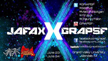 JAFAX x GRAPSF