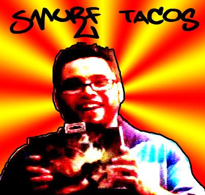 Smurf Tacos w/ 3rd place prize